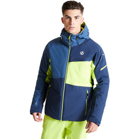 Dare 2b Supercell Veste Homme, nightfall navy/dark denim/lime punch